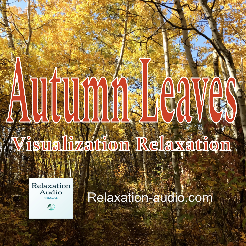 autumn leaves visualization relaxation