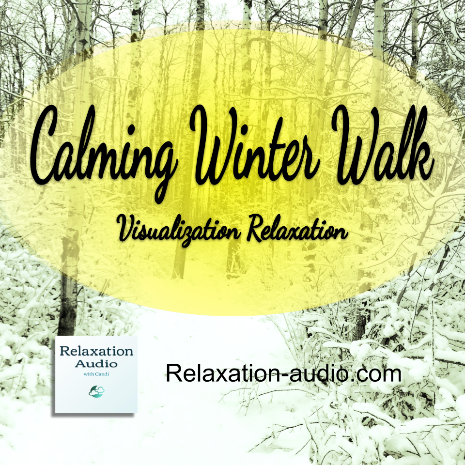 Calming Winter Walk Visualization Relaxation