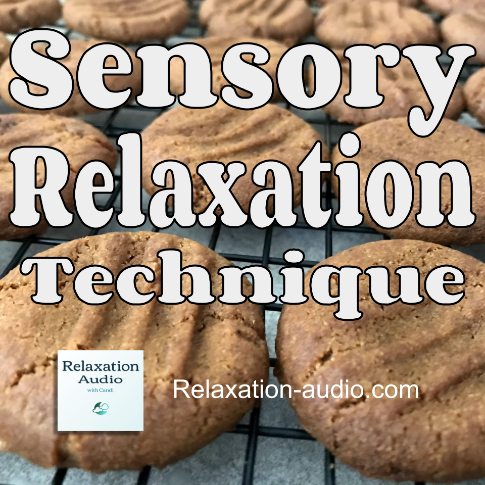 sensory relaxation picture of baking cookies