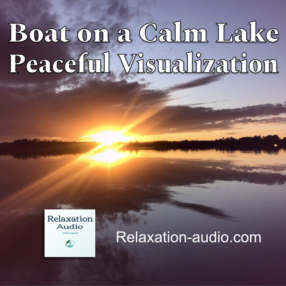 calm lake sunrise
