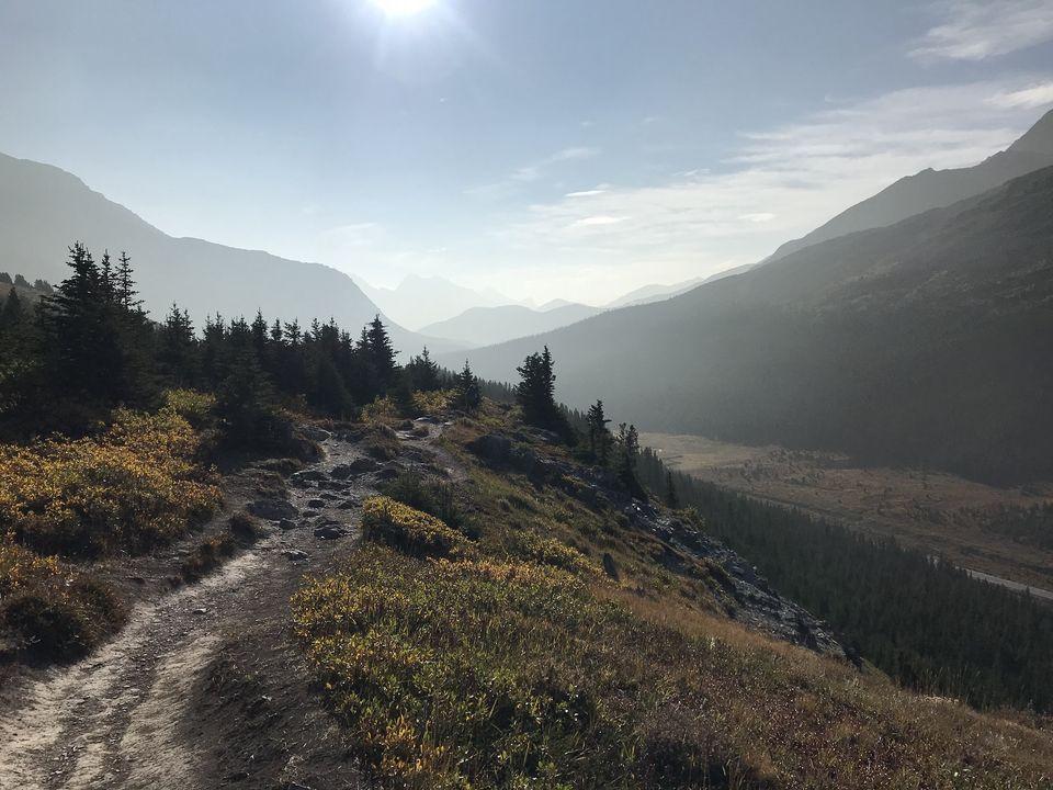 peaceful mountain path