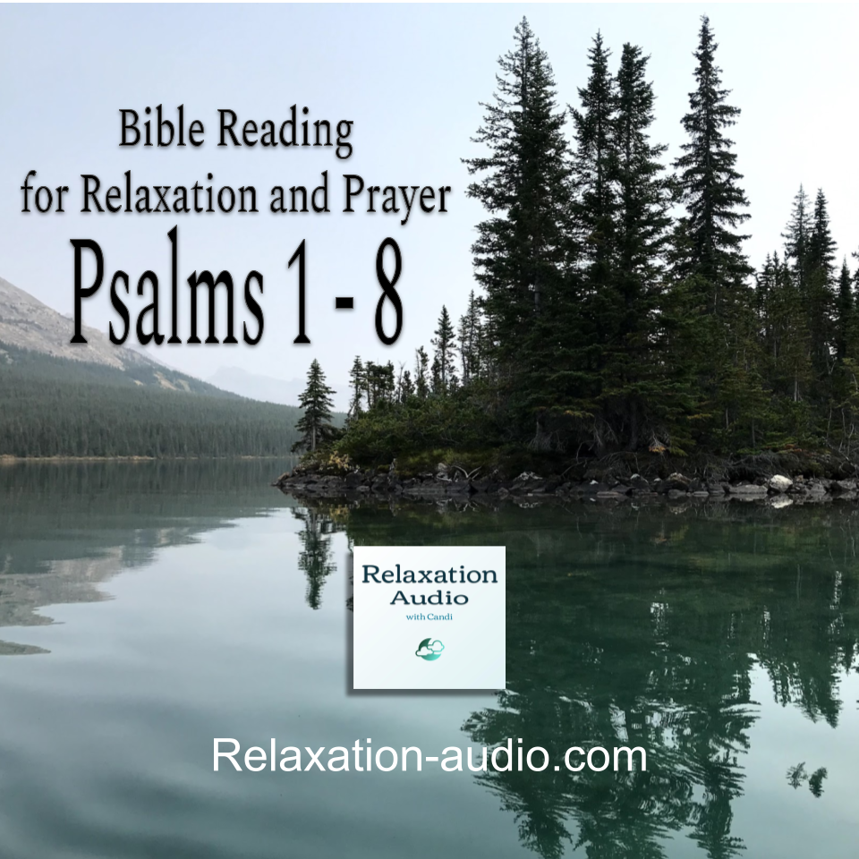 Bible reading relaxation picture of a calm lake
